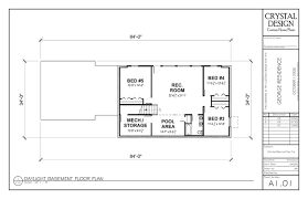 attractive design ranch house plans with finished basement home