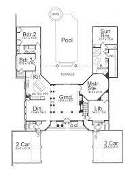 villa house plans featured house plan pbh 7725 professional builder house plans