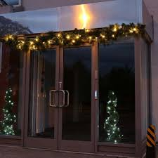 Outdoor Garland Lights Outdoor Commercial Garland Connectable 40 Warm White Leds