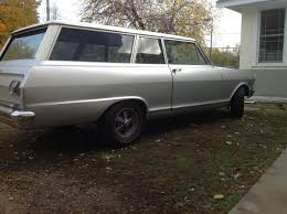 1965 chevy ii two door station wagon factory copo original or