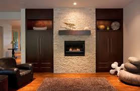 wall fireplace with tv modern corner gas fireplace designs
