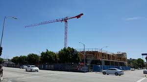 lexus of woodland hills striking mixed use complex under construction in west l a