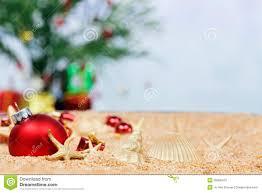 beach christmas ornaments stock photos image 20258413