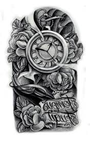 tattoo design clock very tattoo
