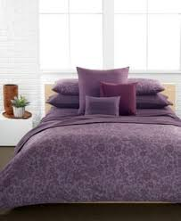 Plum Duvet Cover Set Violet Purple Calvin Klein Somerset Comforter And Duvet Cover Set