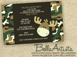 camouflage baby shower camouflage baby shower invitations template best template collection