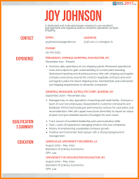 Latest Resume Sample by 4 Resume Samples 2017 Latest Cv Format