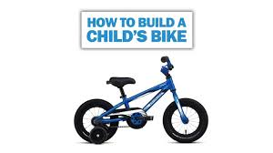 jeep bike kids how to assemble a child u0027s bike youtube