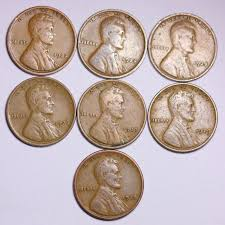 7 different 1920 u0027s lincoln wheat cent penny lowest on the bay