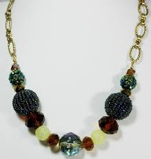 beads gold necklace images Gold serenity handcrafted earth toned antique gold necklace JPG