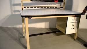 pro line model hd in stock modular ergonomic work bench youtube