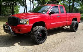 dodge dakota custom wheels 2006 dodge dakota energy 538bm country leveling kit