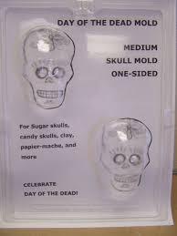 sugar skull molds day of the dead medium flat back sugar skull chocolate candy mold