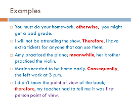 conjunctions and conjunctive adverbs ppt video online download
