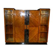 Art Deco Round Display Cabinet Art Deco Furniture For Sale Desks And Cabinets Art Deco Collection