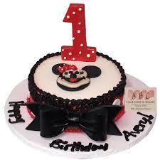 1788 1st birthday minnie mouse cake abc cake shop u0026 bakery
