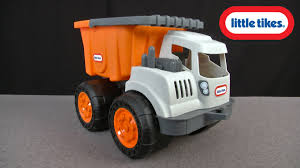 Little Tykes Toy Box Little Tikes Dirt Diggers Dump Truck From Mga Entertainment Youtube