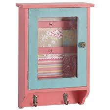Wooden Wall Display Cabinets A U0026b Home Millie Wood Wall Display Cabinet With Hooks Walmart Com