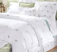 home decor ideas white clean elegant dragonfly bedding home