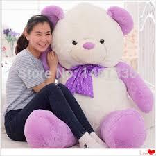 big teddy bears for valentines day aliexpress buy teddy plush s day purple teddy