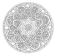 Mandala a colorier gratuit a imprimer 7  Mandalas de difficulté