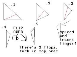 Origami Paper Claws - how to make a origami finger claw paper origami claws comot free