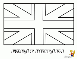 how to draw a british flag pencil art drawing