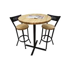 Pub Table Set Butcher Block Pub Table Set Mcclure Tables