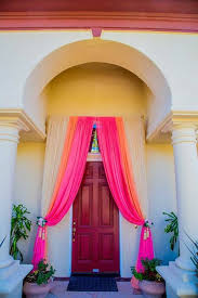 indian wedding house decorations image result for metallic tulle front entrance decoration indian