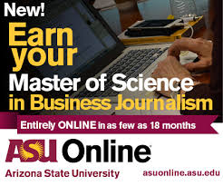 online journalism master s degree online master of science in business journalism reynolds center