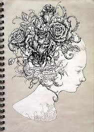 laura sava ink sketches