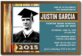 rustic 2016 graduation announcement grad invitations di 6206