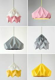 Cardboard Origami - origami l shade and great exles hum ideas