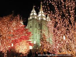panoramio photo of lds salt lake temple with christmas lights in