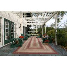 Rugs For Outdoors Barcelona Indoor Outdoor Braided Rug Cottage Home
