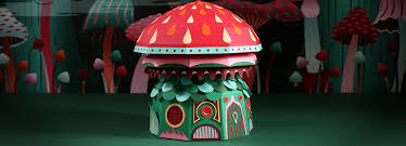 Designboom Hermes | zou crafts a paper woodland wonderland for hermès windows in dubai