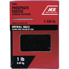 ace 1 5 8in drywall nail 50001 small pack nails ace hardware