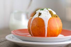 meatloaf baked in mini pumpkins a vintage recipe remake the