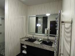 tv in mirror in bathroom picture of 12 tribes resort u0026 casino