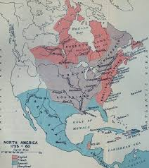 america map before and after and indian war seven years war and indian war the war of the conquest