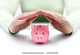 his and piggy bank piggy bank sunglasses on stock photo 410795833