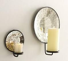 Mirror With Candle Sconces Home Diy Mirror Wall Mount Candle Sconce Cotcozy