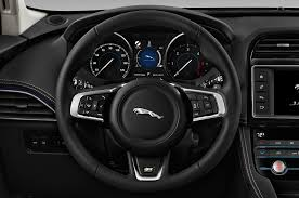jaguar f pace black 2017 jaguar f pace steering wheel interior photo automotive com