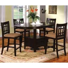 round table with chairs that fit underneath round kitchen dining room sets for less overstock com