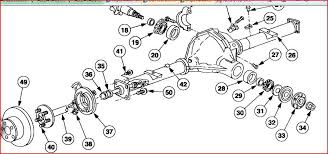 ford ranger rear axle need a rear end diagram ford truck enthusiasts forums