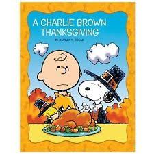 peanuts picture bks brown thanksgiving by charles schulz