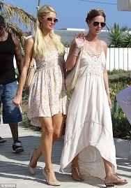 What Happened To Paris Hilton - paris hilton displays badly bruised legs as she enjoys st tropez