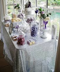 banquet table linens wholesale 8ft banquet silver sequin tablecloth large 90x156 inch silver table