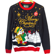 drunken snowman light up tacky ugly christmas sweater the ugly