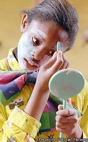 makeup school boston class clowns kids from oakland s prescott school give the gift